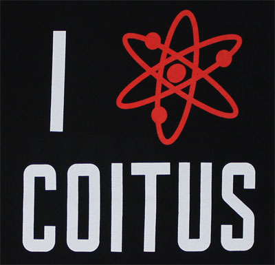 Coitus - Big Bang Theory T-shirt