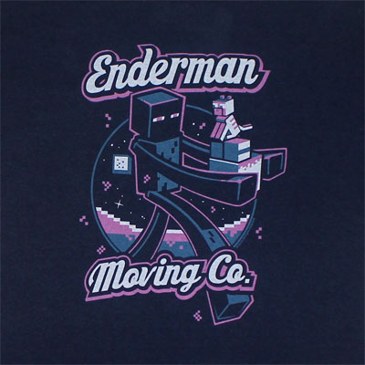 Enderman Moving Company - Minecraft T-shirt