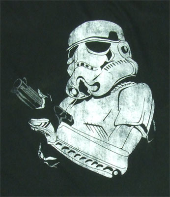 Faded Trooper - Star Wars Sheer T-shirt