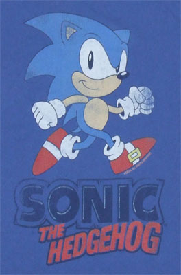 Classic Games - Sonic The Hedgehog Sheer Women's T-shirt