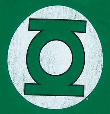 Green Lantern Logo - DC Comics Sheer Women's T-shirt