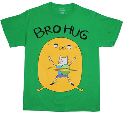 Bro Hug - Adventure Time T-shirt