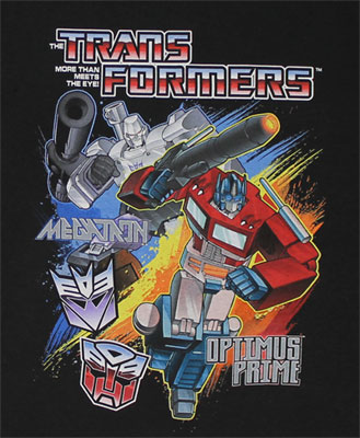 Megatron Vs. Optimus - Transformers Juvenile T-shirt