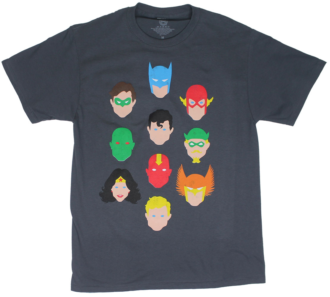 Simple Characters - DC Comics T-shirts