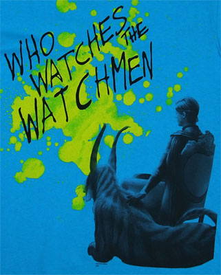 Ozymandias Splatter - Watchmen T-shirt