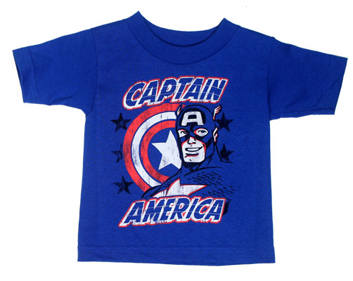 Faded Captain - Marvel Comics Toddler T-shirt
