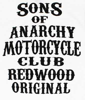 Sons Of Anarchy Motorcycle Club - Sons Of Anarchy T-shirt