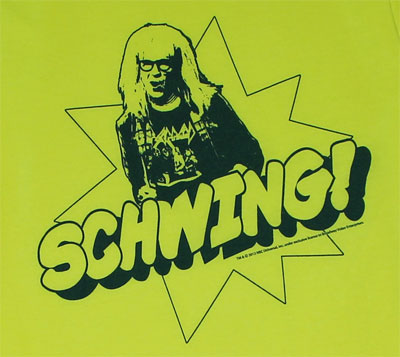 Schwing - Saturday Night Live Sheer T-shirt