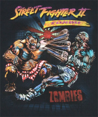 Beyond Dead - Street Fighter II Sheer T-shirt