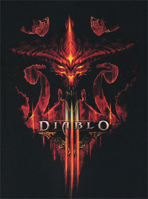 Burning - Diablo III T-shirt