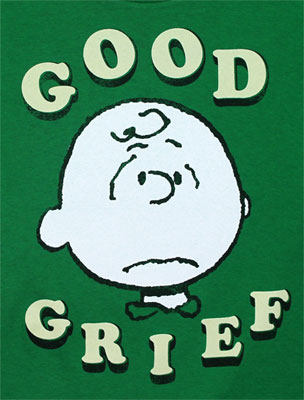 Good Grief! - Peanuts Juvenile T-shirt