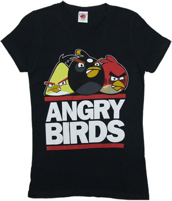 Run Birds - Angry Birds Sheer Women's T-shirt