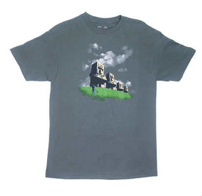 Statues - Minecraft T-shirt