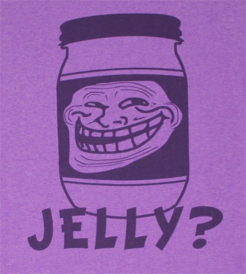 Jelly? - You Mad? Sheer T-shirt