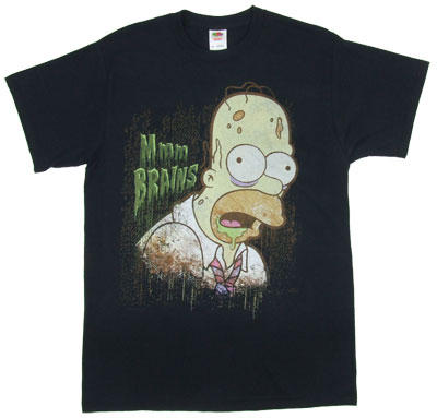 Mmm Brains - Homer - Simpsons T-shirt