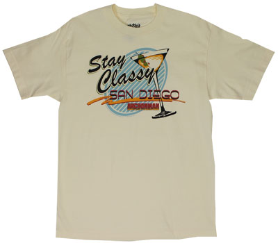 Stay Classy San Diego - Anchorman T-shirt