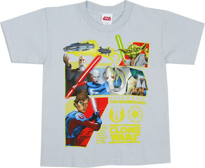 The Republic&#039;s Revenge - Star Wars Clone Wars Juvenile T-shirt