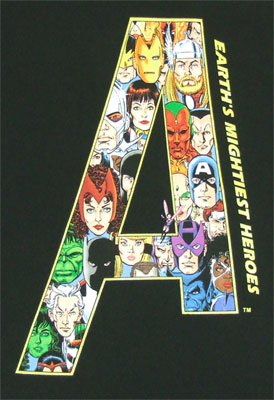Big A - Avengers - Marvel Comics T-shirt