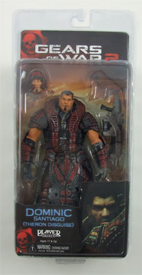 Dominic Santiago - Gears Of War Action Figure