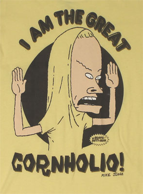 Cornholio - Beavis And Butthead Sheer Women's T-shirt