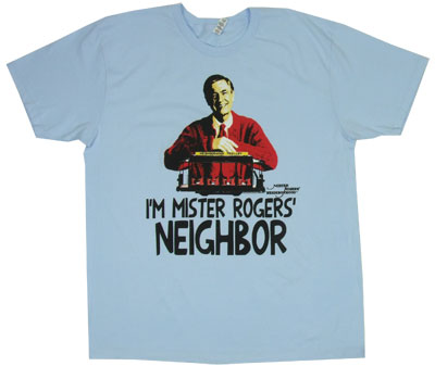 I'm Mister Rogers' Neighbor - Mr. Rogers Sheer T-shirt