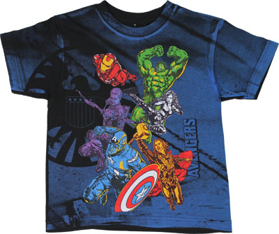 Post Avengers - Avengers Juvenile T-shirt