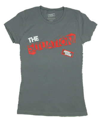 I Love The Situation - Jersey Shore Sheer Women&#039;s T-shirt