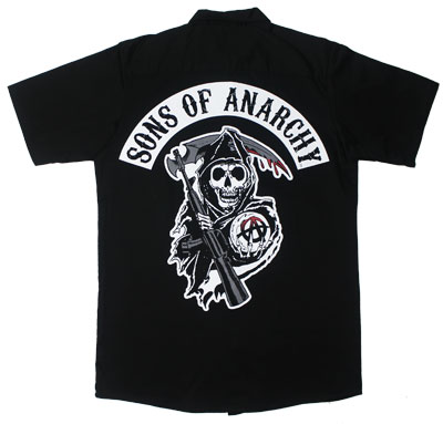 Classic Reaper - Sons Of Anarchy Work Shirt