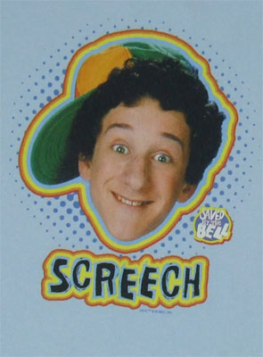 Screech - Saved By The Bell T-shirt