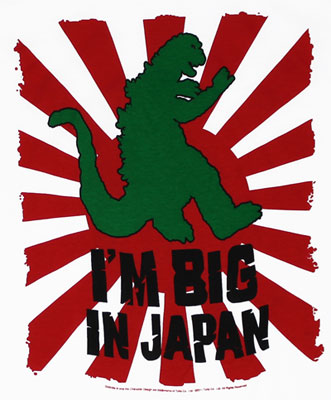I'm Big In Japan - Godzilla T-shirt