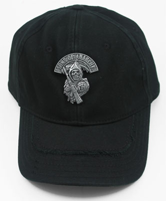 Metal Reaper - Sons Of Anarchy Fitted Baseball Cap