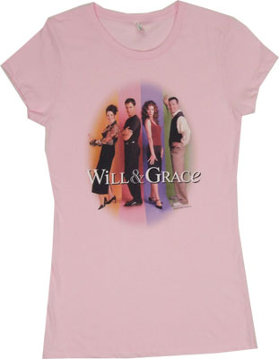 Will &amp; Grace Sheer Women&#039;s T-shirt