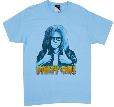 Party On! - Wayne's World - Saturday Night Live T-shirt