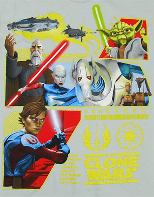 The Republic's Revenge - Star Wars Clone Wars Boys T-shirt