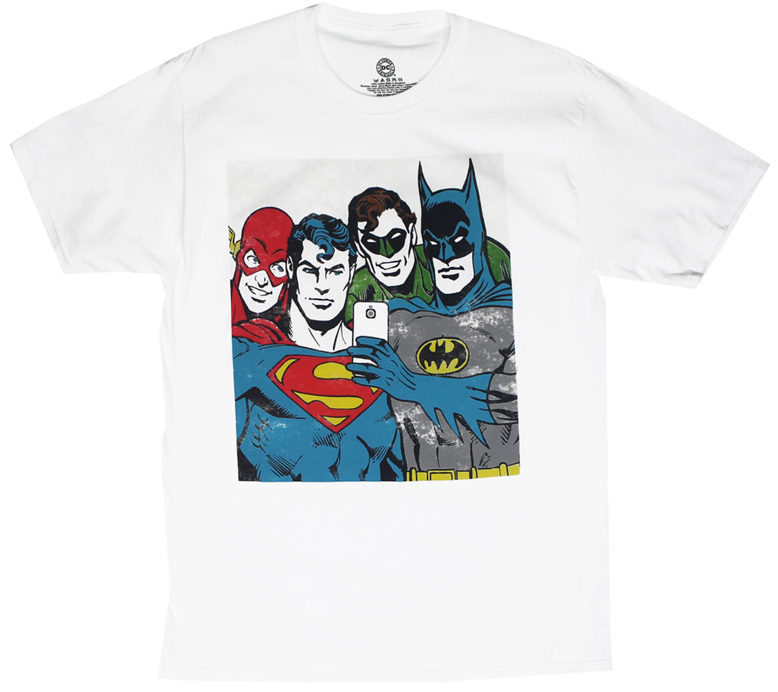 Selfie Of Justice - DC Comics T-shirt