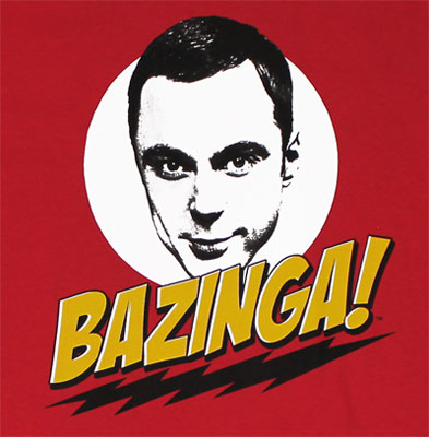 Bazinga Sheldon - Big Bang Theory T-shirt