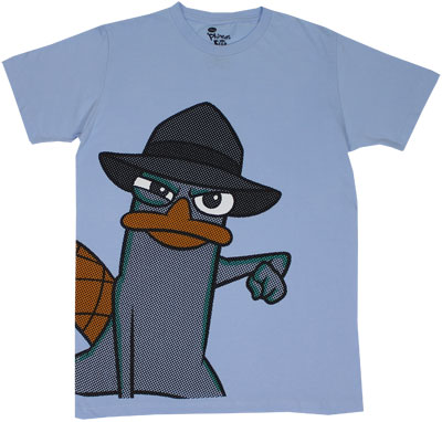 Perry On The Side - Phineas And Ferb Sheer T-shirt