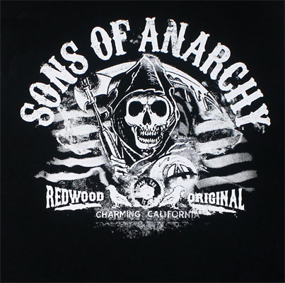 American Flag Stripes - Sons Of Anarchy Muscle Tee