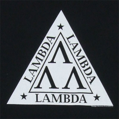 Tri-Lambda - Revenge Of The Nerds T-shirt