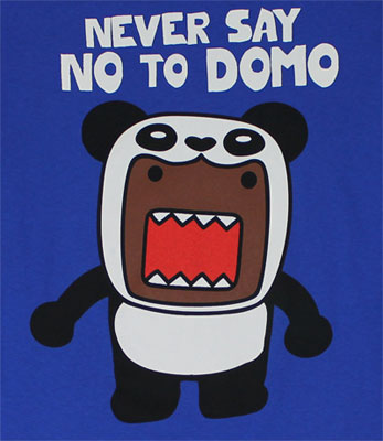 Never Say No to Domo - Domo-Kun T-shirt