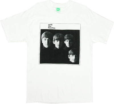 With The Beatles - Beatles T-shirt