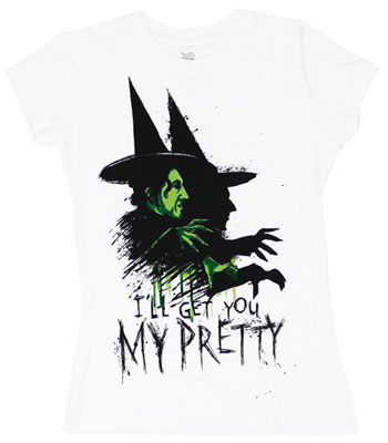 I&#039;ll Get You My Pretty - Wizard Of Oz Sheer Women&#039;s T-shirt