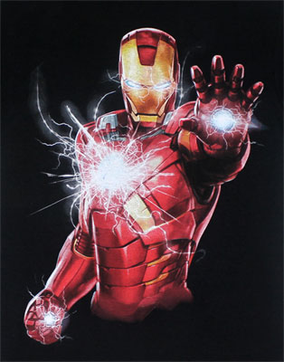 Iron Man Power - Marvel Comics T-shirt