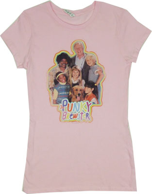Punky Brewster Sheer Women's T-shirt