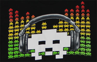 Alien Equalizer - Space Invaders T-shirt