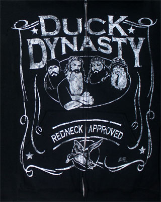 Duck Scroll - Duck Dynasty Hooded Sweatshirt