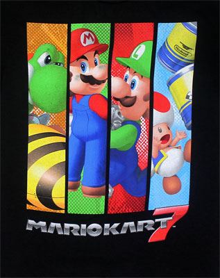 Four Heroes - Nintendo Youth T-shirt