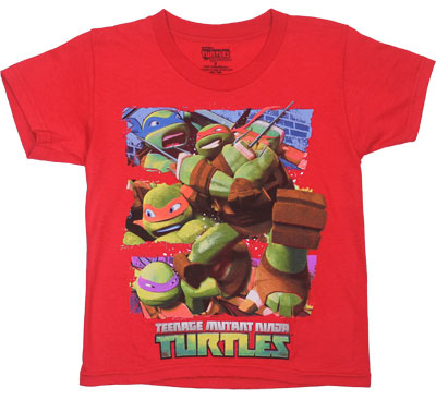 Teenage Mutant Ninja Turtles Juvenile T-shirt
