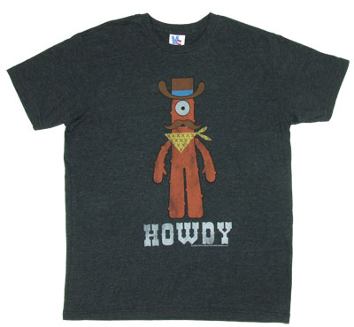 Howdy - Yo Gabba Gabba - Junk Food Men&#039;s T-shirt