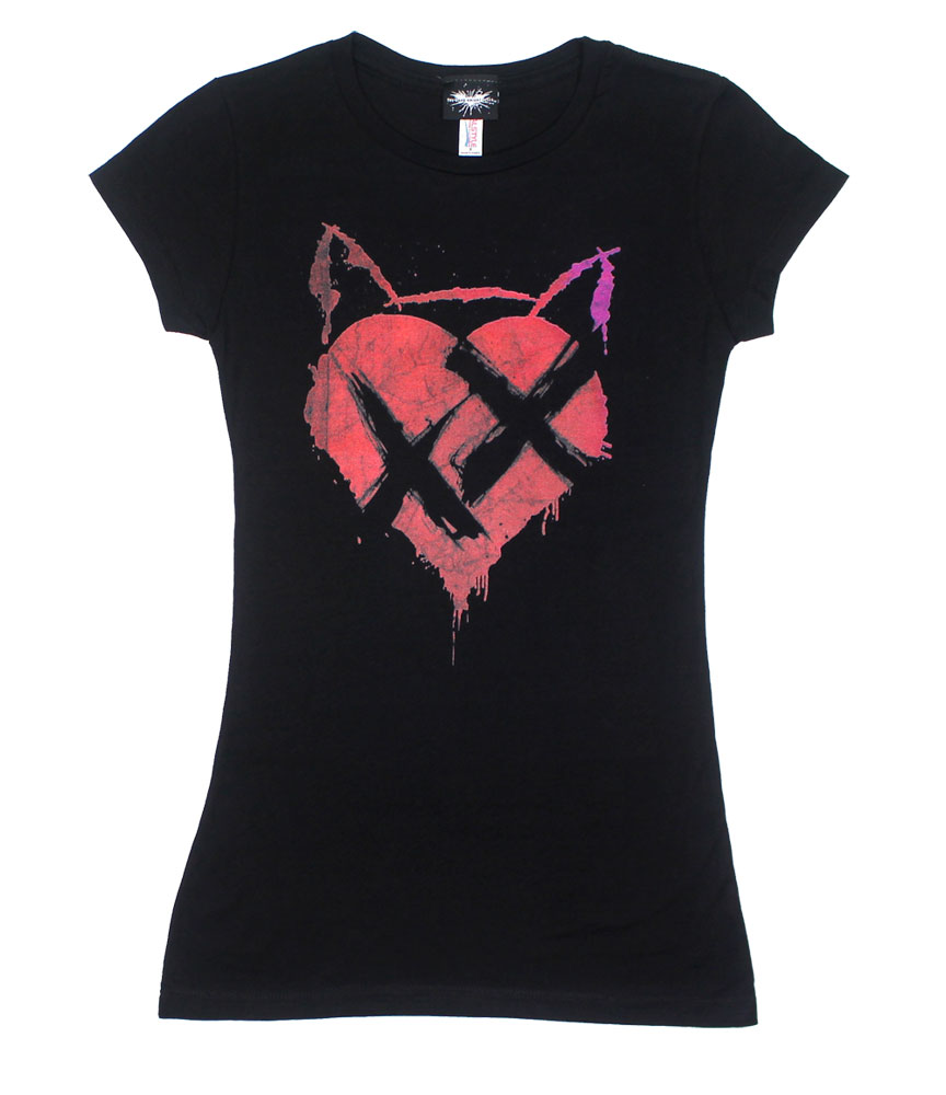 No Heart - Dark Knight Rises Sheer Women's T-shirt
